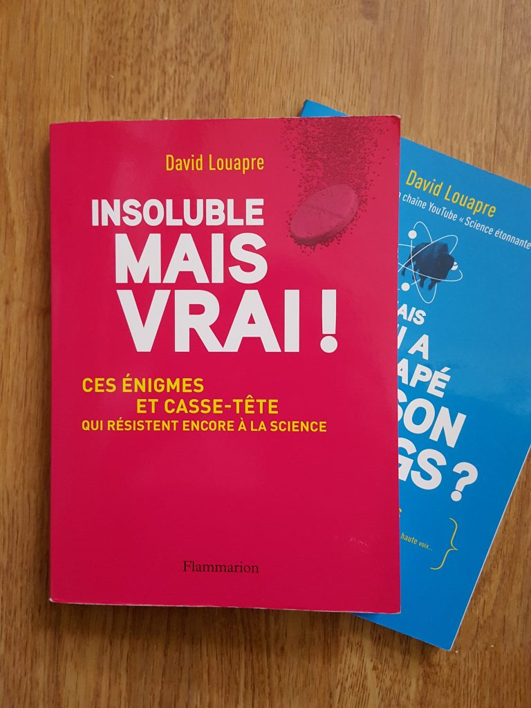 Insoluble mais vrai! – David Louapre (Flammarion)