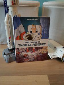 Dans la combi de Thomas Pesquet - Marion Montaigne (Dargaud)