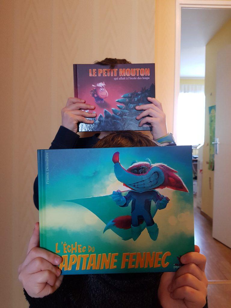Deux albums jeunesse de Franck Demollière