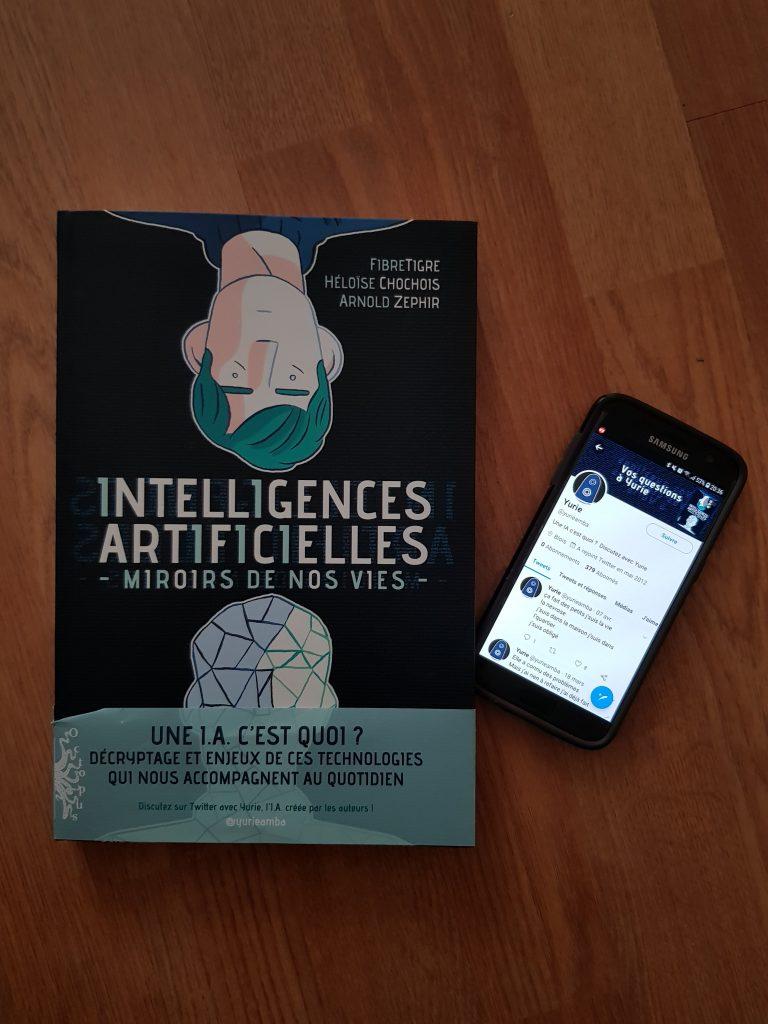 Lu – Intelligences artificielles – FibreTigre, Heloise Chochois et Arnold Zephir (Delcourt)