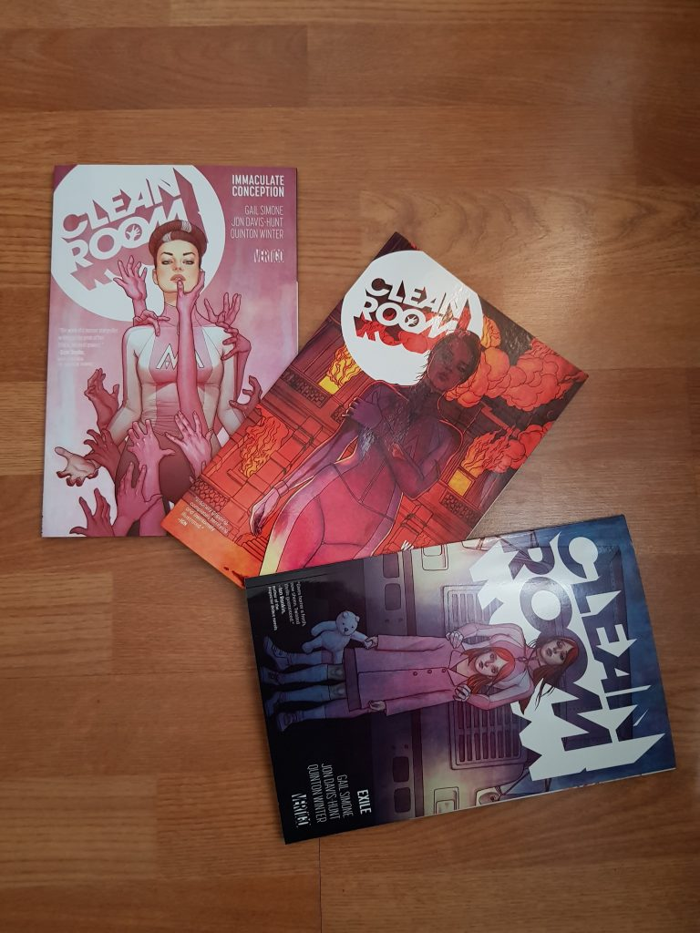 Lu – Clean Room – Gail Simone, Jon Davis-Hunt et Quinton Winter (Vertigo)